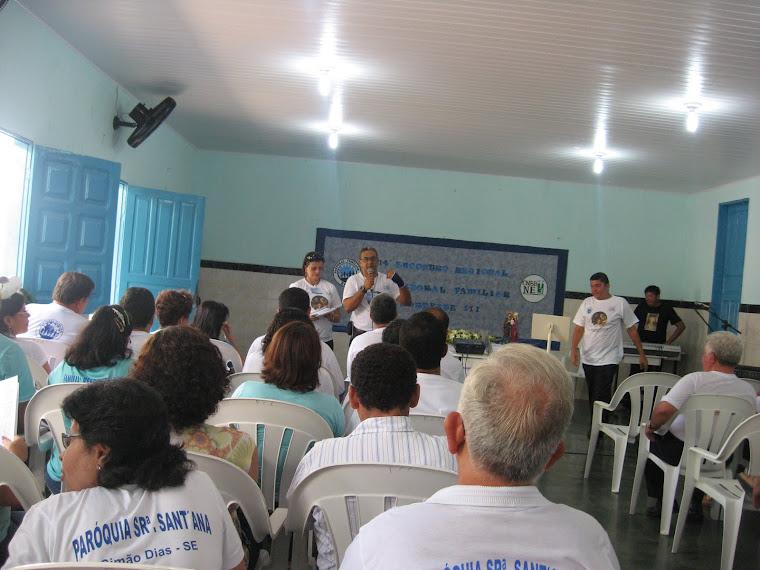 14º ENCONTRO REGIONAL DA PASTORAL FAMILIAR EM AQUIDABÃ - SE - 28,29 e 30/01/2011