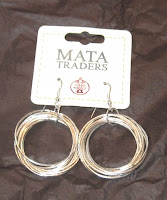 Mata Traders Connected Circles earrings