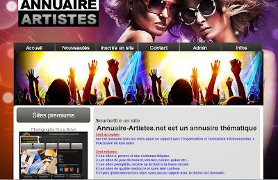 Annuaire-artistes.net