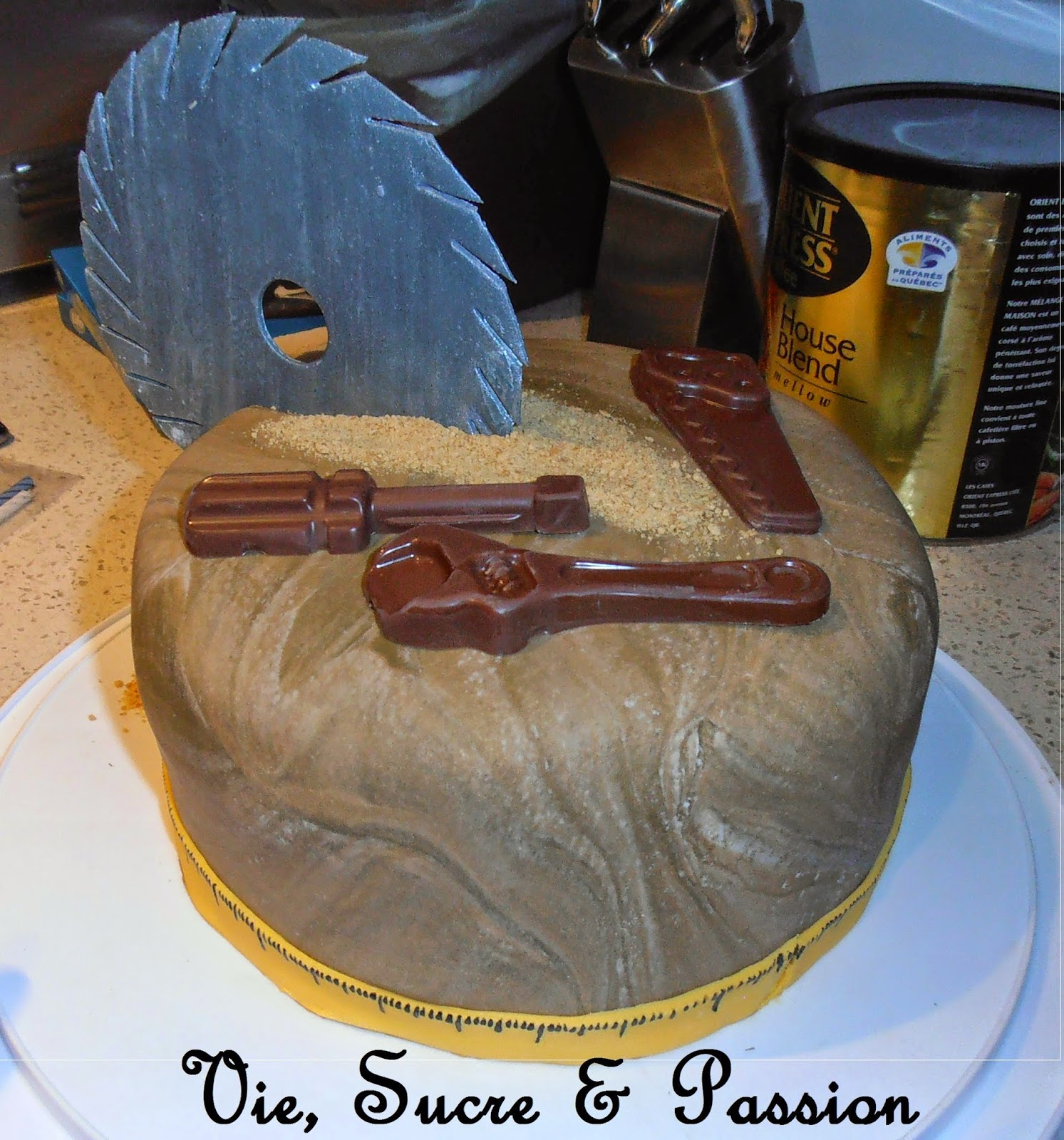 Handyman Cake, Edible Tools