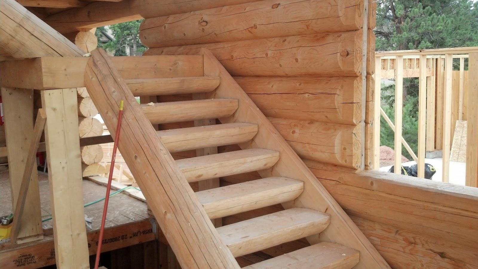 Stannard Log Home July 2012