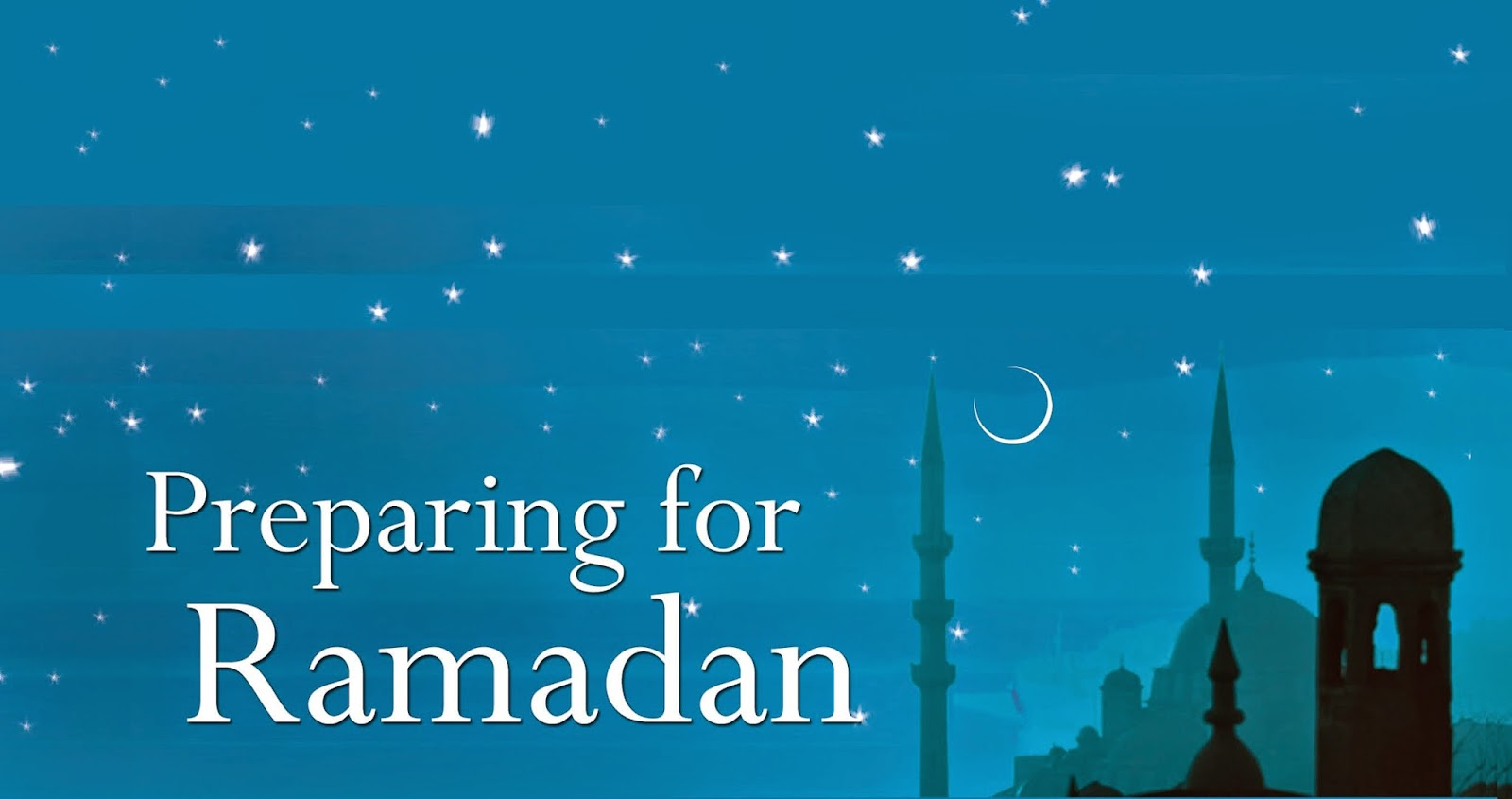 The Holy Month Ramadan Mubarak