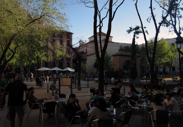 Terrazas en Plaza 2 de Mayo, Malasaña.