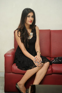 Actress Sabha Picture Gallery in Black Dress at Everydaypopcorn Website Launch Function  0068.jpg