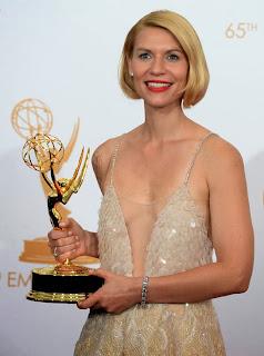 Claire Danes, mejor actriz drama por Homeland Emmy 2013