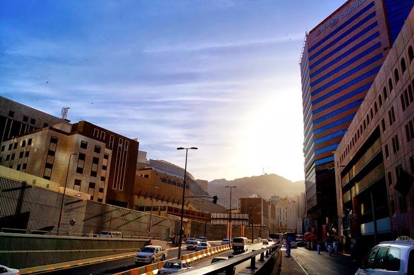Underpass. 100 M jelang Masjidil Haram, Mekah.