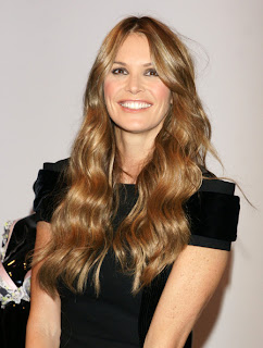 Elle MacPherson with New Hairstyle
