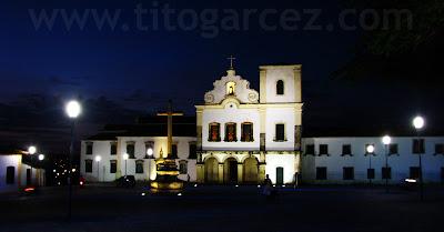 Igreja de São Francisco e convento de Santa Cruz, na praça São Francisco, em São Cristóvão - Sergipe - Por Tito Garcez