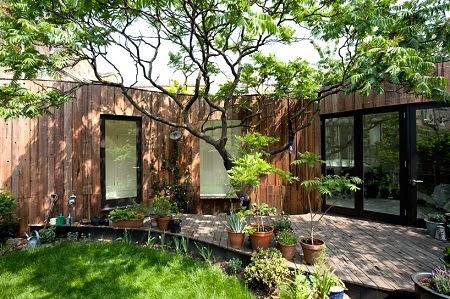 Casa con Madera Reciclada, Construcciones Ecoresponsables