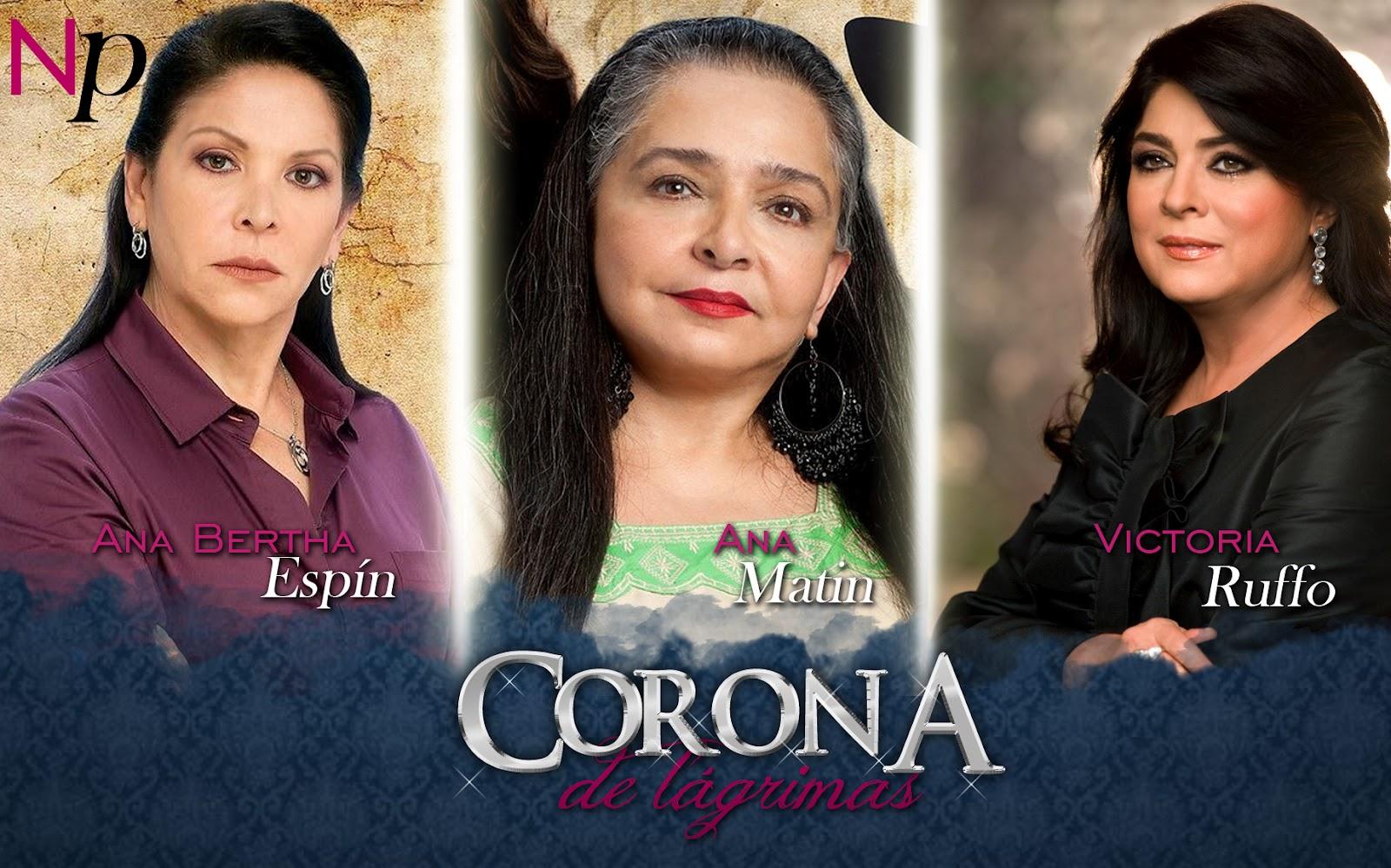 """Quien protagonizará """"Corona de Lágrimas""""?"""