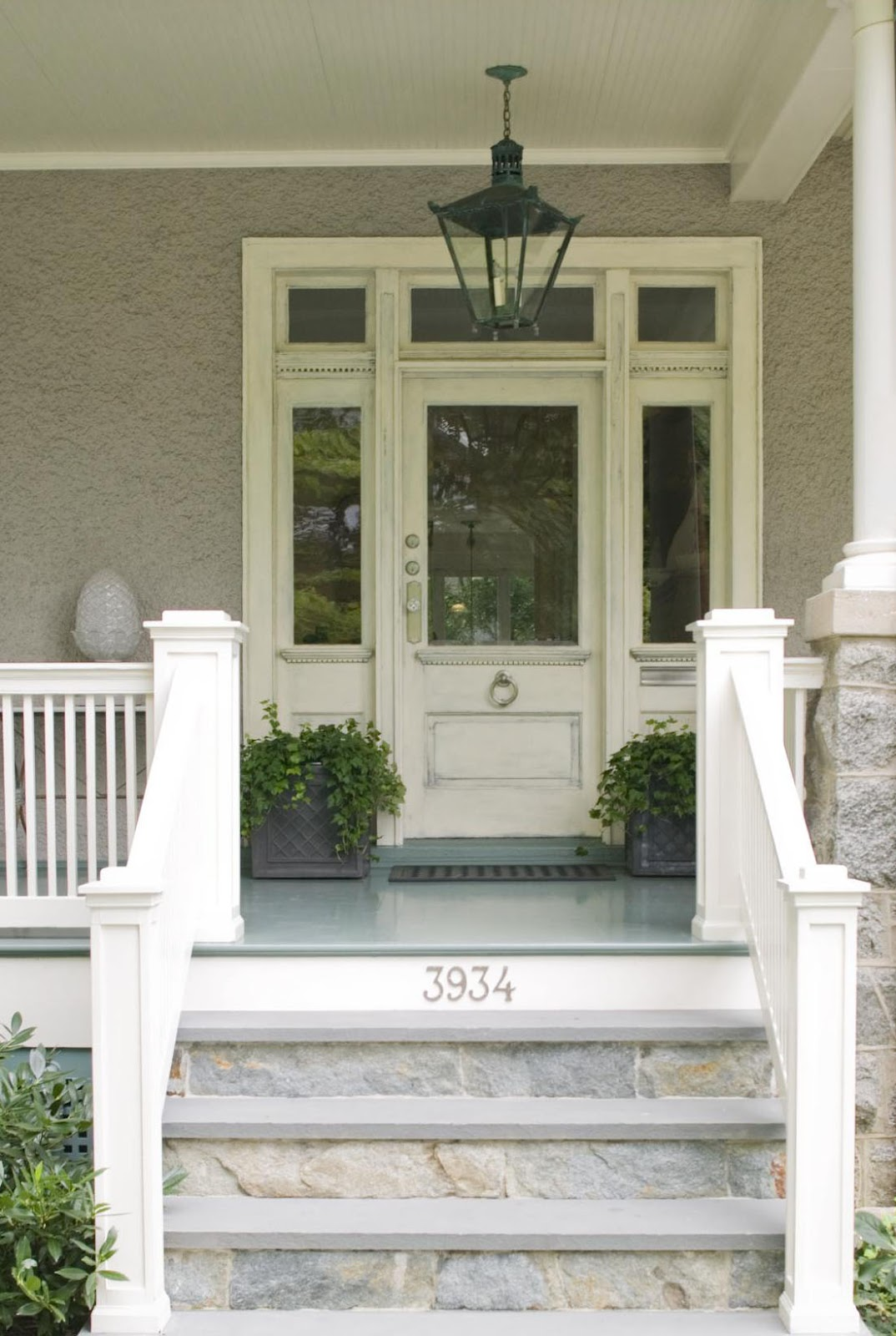 Tone on tone march 2012 for Front door steps ideas