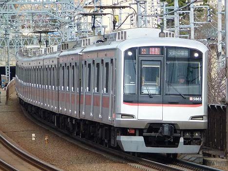 東急東横線 特急 元町・中華街行き 5050系