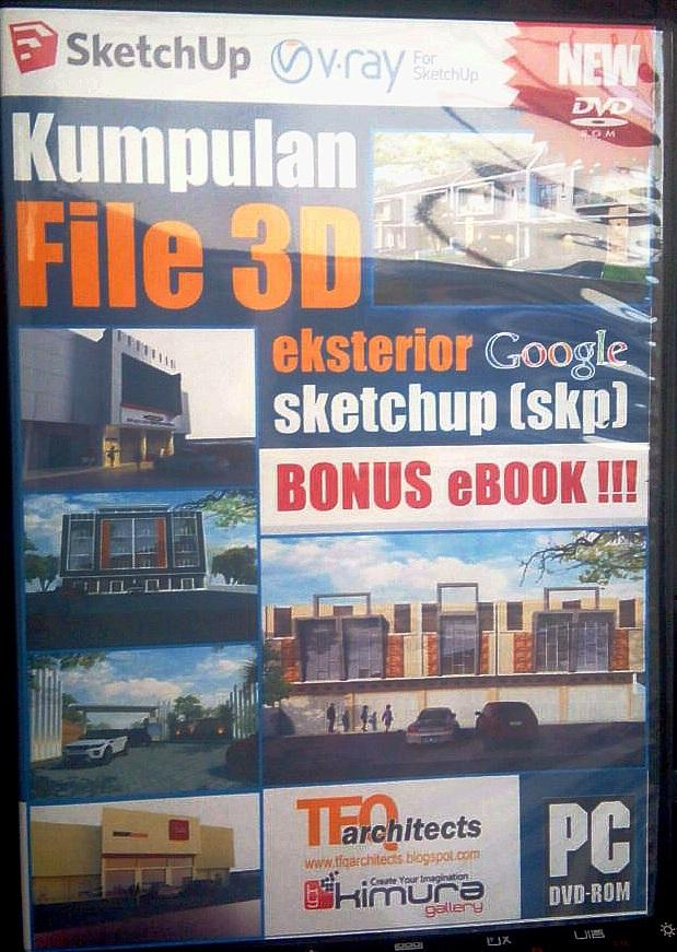 Kumpulan File 3D Eksterior Google Sketchup [skp]