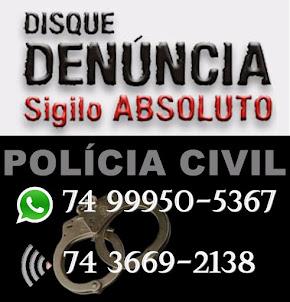 DISQUE DENÚNCIA POLÍCIA CIVIL