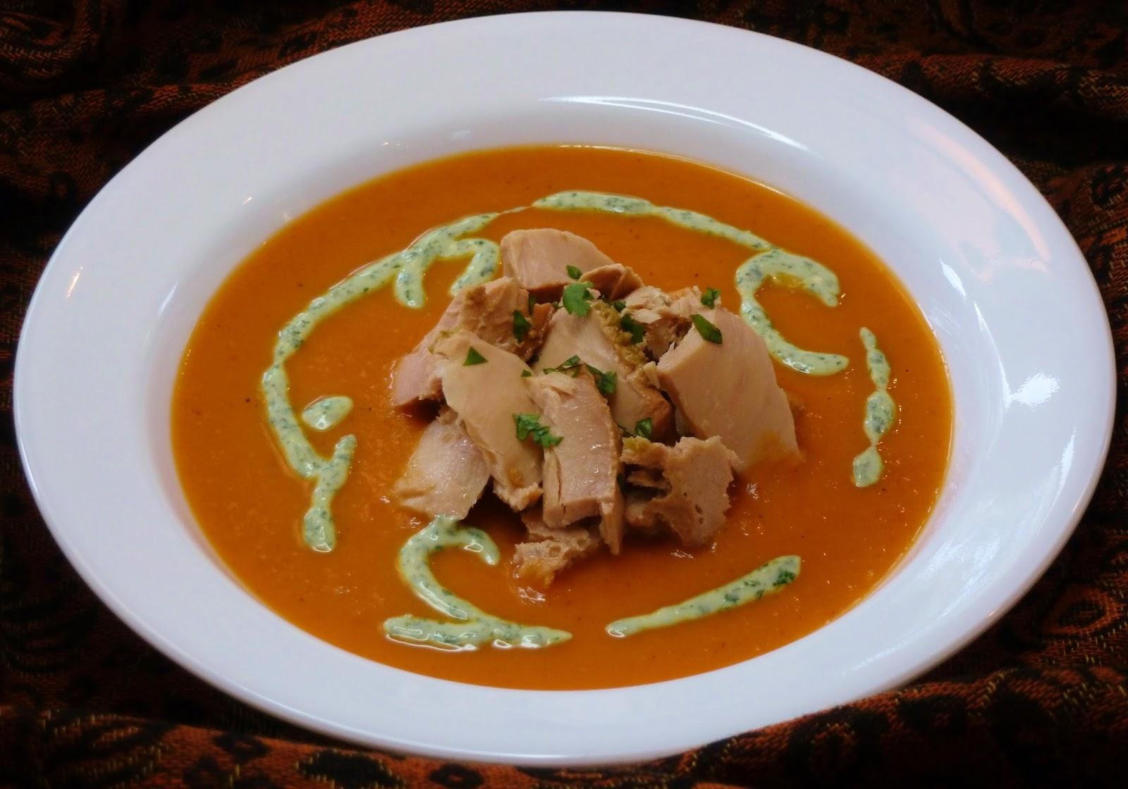 Creamy Habanero And Tomato Soup Recipe — Dishmaps