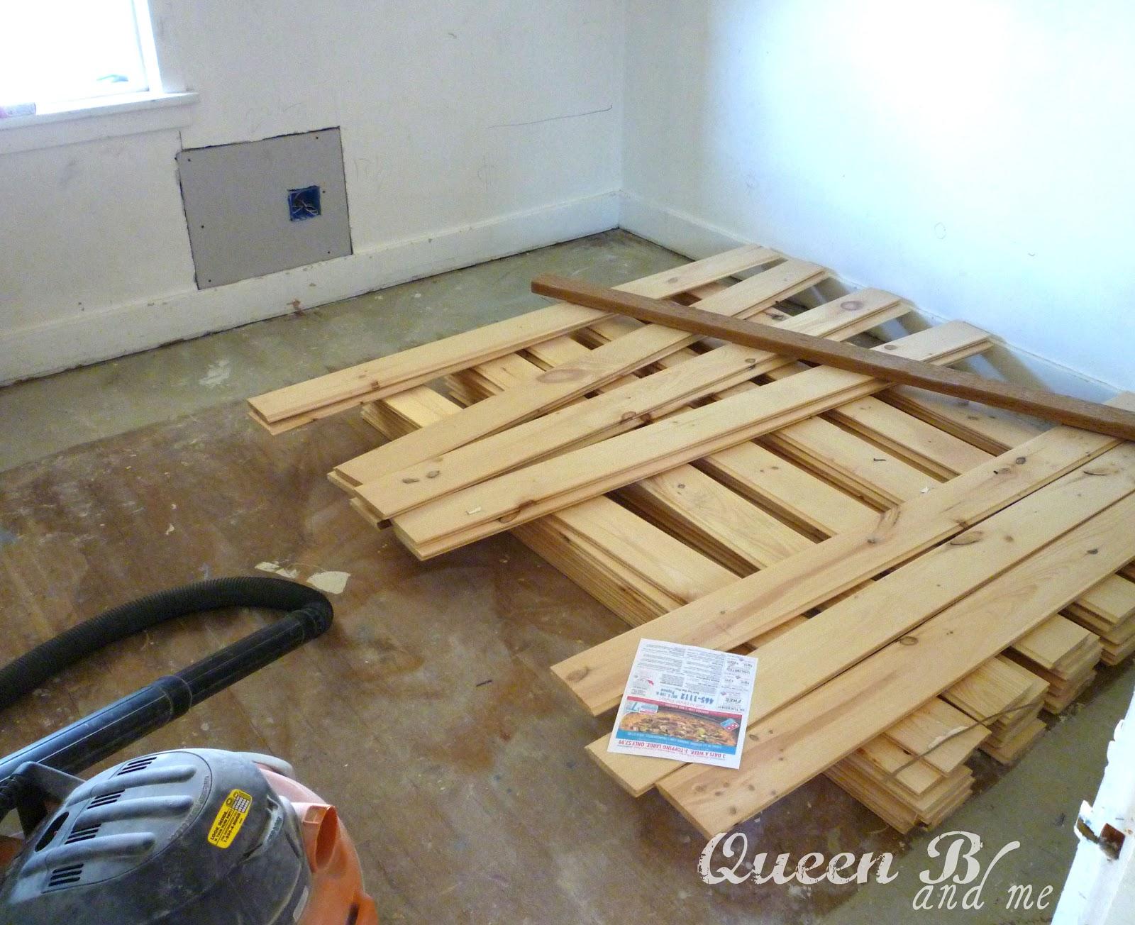Queen b me how to refinish hardwood floors for Hardwood floors queen christina