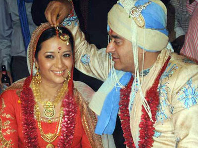 Actress Reema Sen marriage Photos
