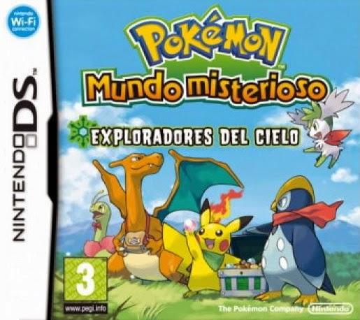 Pokémon Mundo Misterioso Exploradores del Cielo (Español) (Nintendo DS)