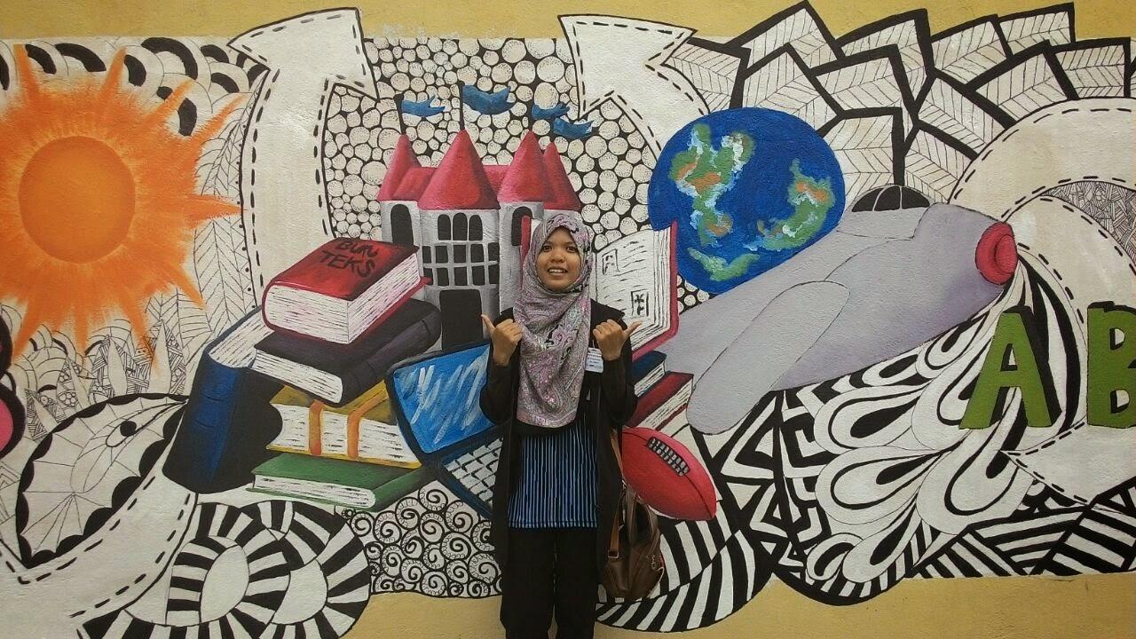Seni arca upsi projek melukis mural for Mural sekolah rendah
