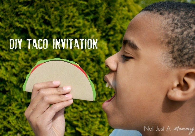 DIY Taco Invite For Cinco De Mayo!