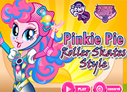 MLPEG Pinkie Pie Roller Skates Style