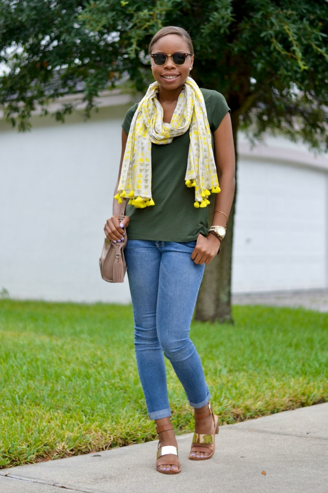 Olive Green | Summer Outfit Ideas