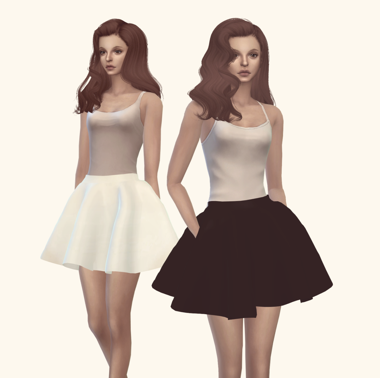 My Sims 4 Blog: Dress Recolors by VintageySims