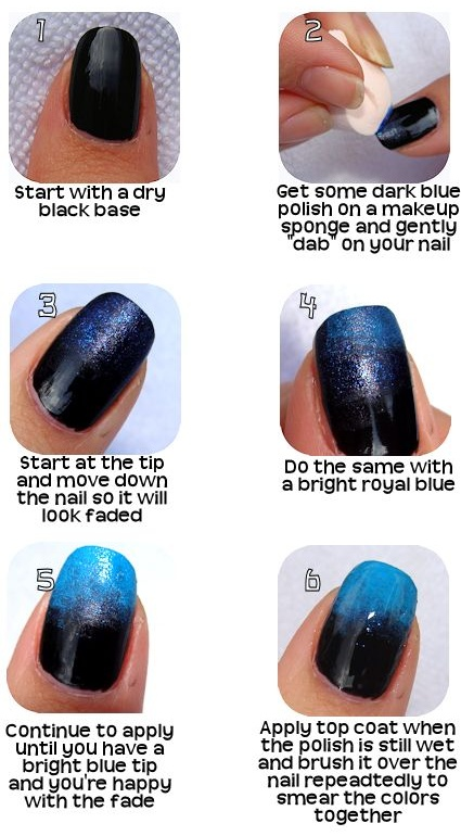 Simple Sassy Nails: Ombre Nails