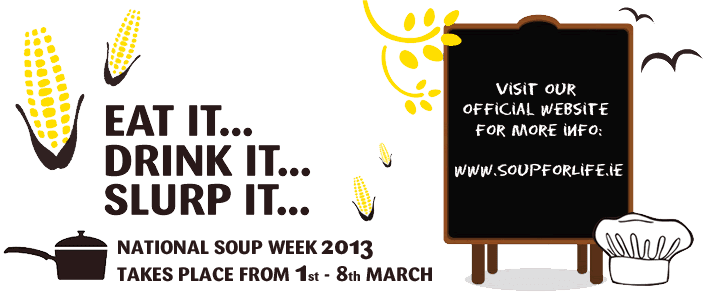 National Soup Week 2013 takes place from 1st - 8th March!