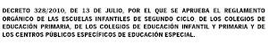 Decreto 328/2010, de 13 de julio