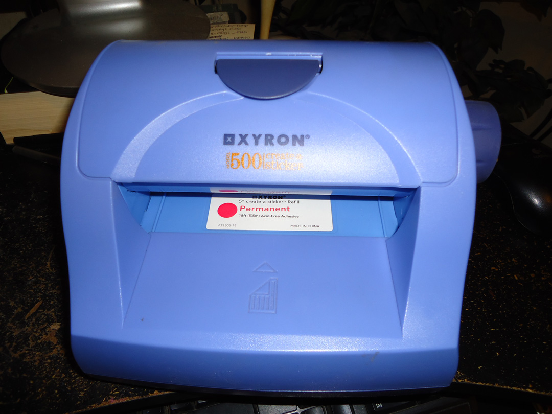 xyron 500 sticker machine refill