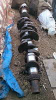 Yanmar S 185, used crankshaft for sale