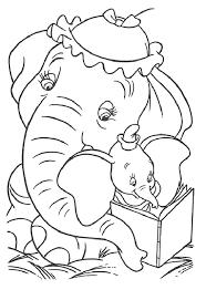 mewarnai gambar gajah untuk anak 18