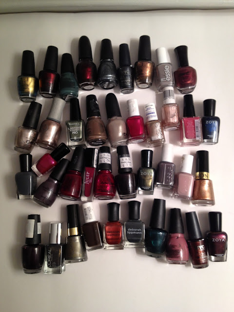 Fall/Winter Nail Polish Collection +Swatches