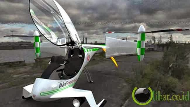 Falx Air Hybrid Tilt-Rotor Chopper