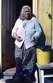 Doña Ermelinda, en su casa de Villa Ukika