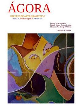 ÁGORA, papeles de arte gramático Editores: Francisco Javier Illan Vivas y Fulgencio Martínez