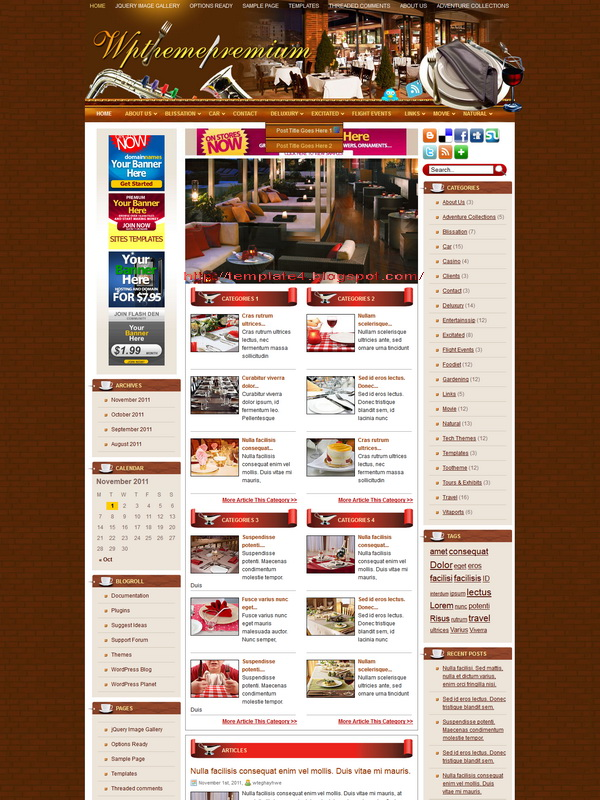 Foodiet WordPress Theme