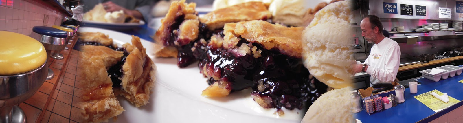 Blueberry Pie at Bob & Edith's Diner