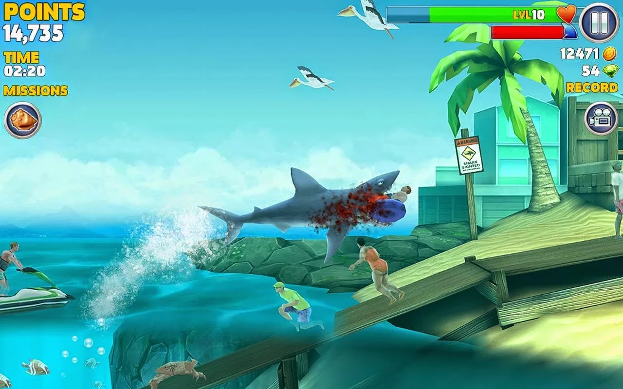 Hungry Shark Evolution v2.9.4 Mod