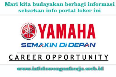 Lowongan kerja terbaru di PT Yamaha Motor Parts Manufacturing Indonesia