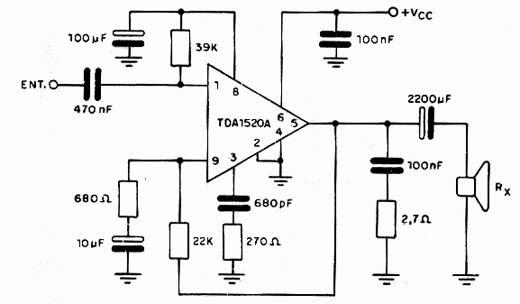Circuito Amplificador : Circuitos amplificadores circuito amplificador de