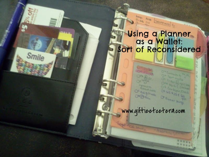 planner, wallet