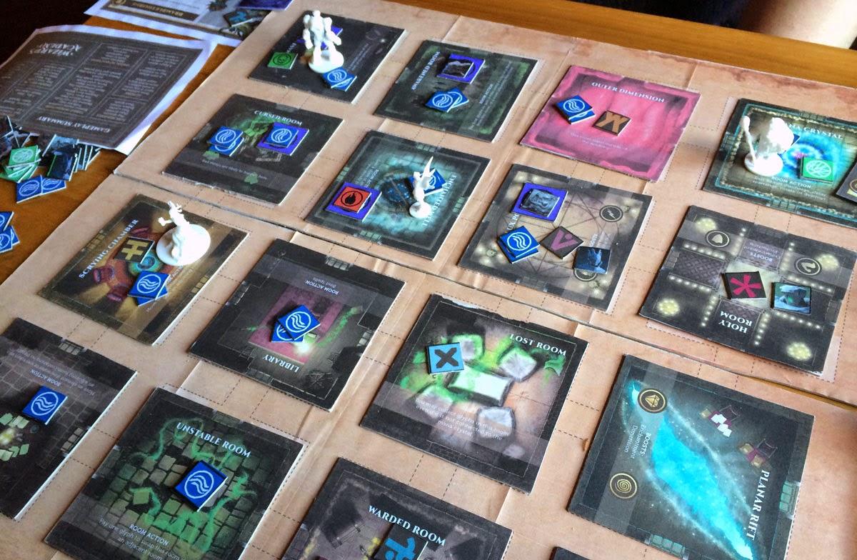 Wizard's Academy prototype board