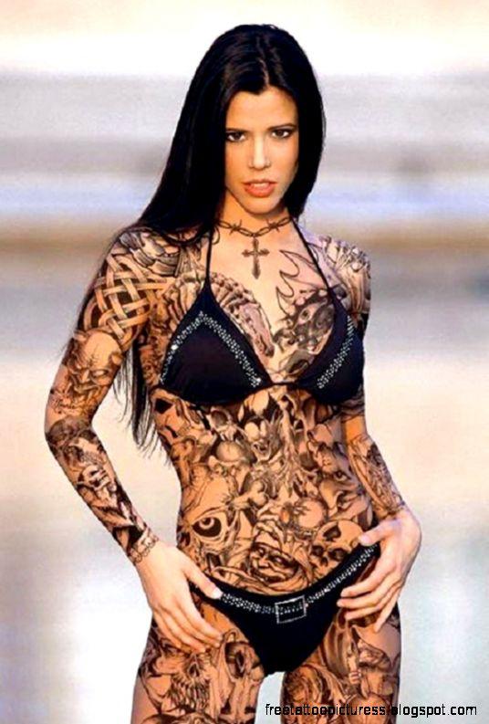Cool Full Body Tattoo For Women  HD Tattoo Design