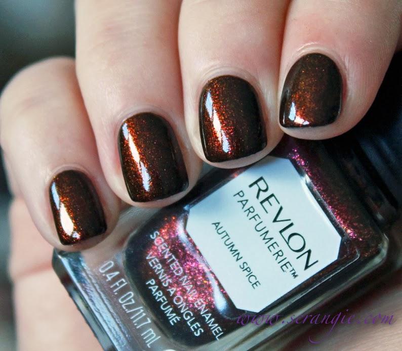 Scrangie: Revlon Parfumerie Scented Nail Enamel in Autumn Spice