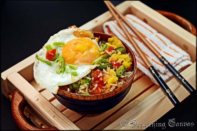 Healthy Chinese Egg Rice