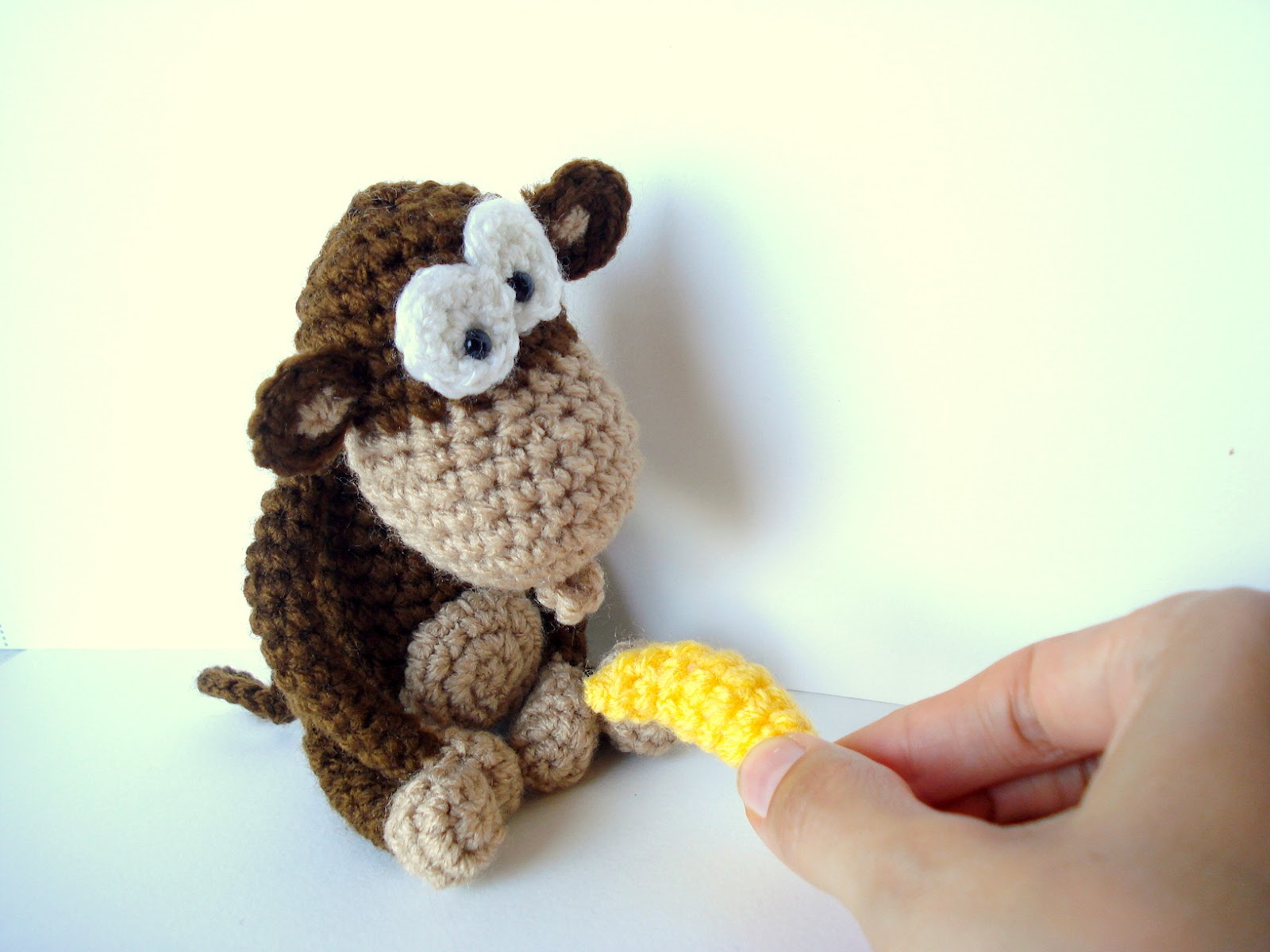 AllSoCute Amigurumis: Amigurumi Monkey Pattern, Crocheted ...