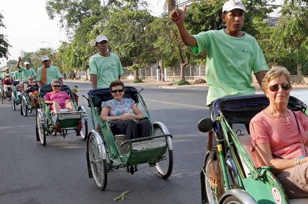 Happy Travel Guide Happy Travel Guide Cyclo Tour In Cambodia