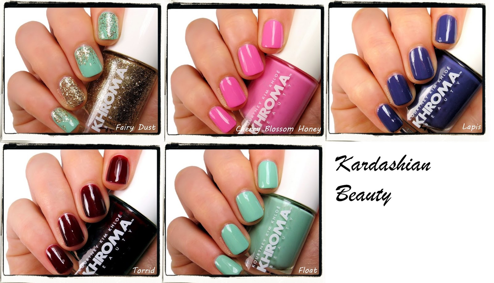 Kardashian Beauty - review of some polishes - Nailderella